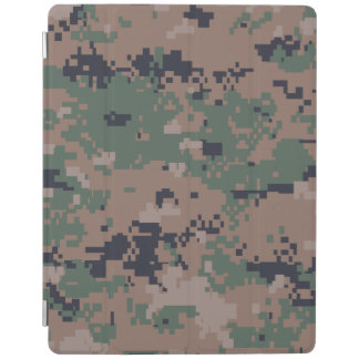 Digital Woodland Camouflage iPad Cover