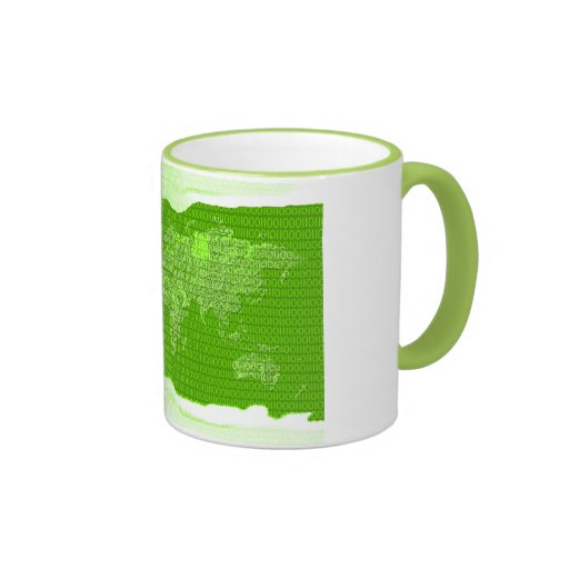 Digital world mug