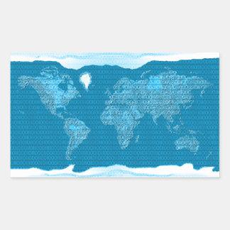 Digital world sticker