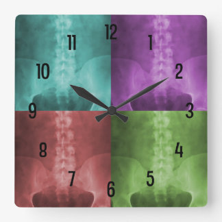Digital X-Ray Art Wall Clock
