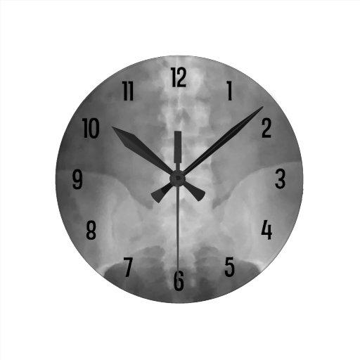 Digital X Ray Art Wall Clock Zazzle