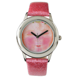 Digitalis faery pink watch reloj de mano