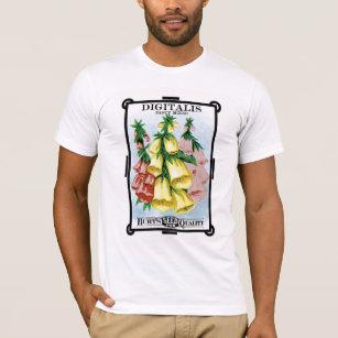 Digitalis Seed Packet Label T-Shirt