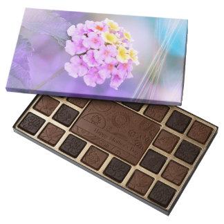 Digitally Enhanced Flower 45 Piece Box Of Chocolates