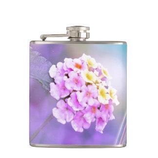 Digitally Enhanced Flower Hip Flask