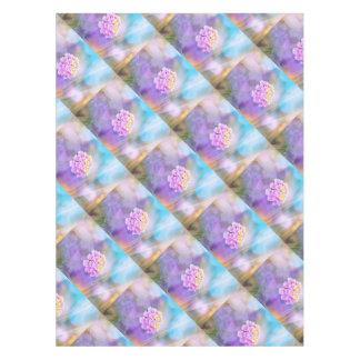 Digitally Enhanced Flower Tablecloth