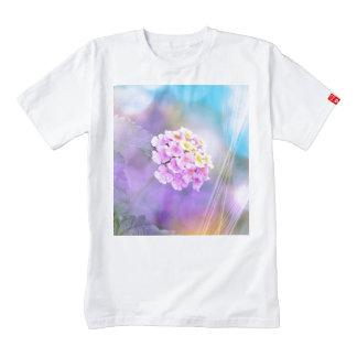 Digitally Enhanced Flower Zazzle HEART T-Shirt