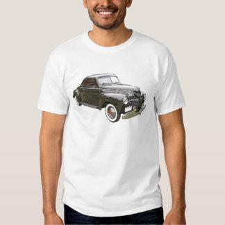Digitally enhanced image of a black 1941 Plymouth Shirt