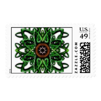 Digitally Grown Carnivorous Plant Stamp