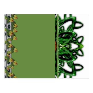 Digitally Grown Carnivorous Plant Post Cards