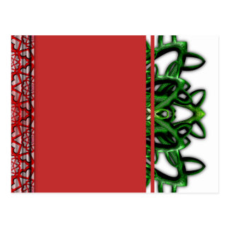 Digitally Grown Carnivorous Plant Postcard
