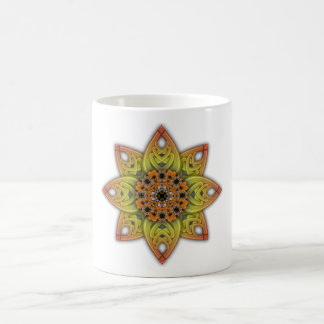 Digitally Grown Flower 1st Bloom Transparent Coffee Mugs