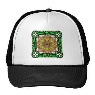 Digitally Grown Flower 2nd Bloom Transparent Mesh Hat