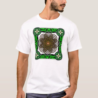 Digitally Grown Pretzel Flower with Choco Caramel T-Shirt