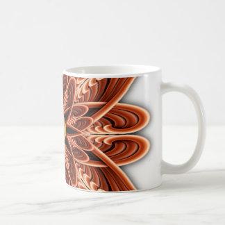 Digitally Grown Red Flower Coffee Mug