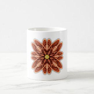 Digitally Grown Red Flower Coffee Mugs