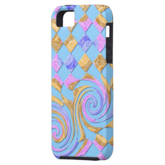 Digitally kind - blue iPhone SE/5/5s case