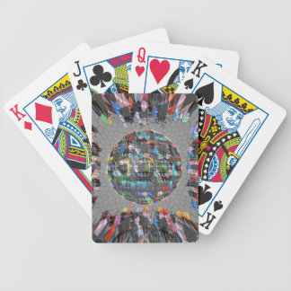 Digitally painted Artistic Diamond Bicycle Playing Cards
