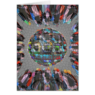 Digitally painted Artistic Diamond Card