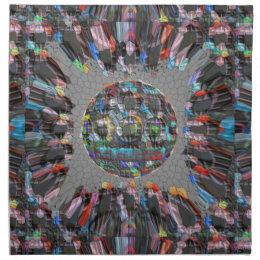 Digitally painted Artistic Diamond Cloth Napkin