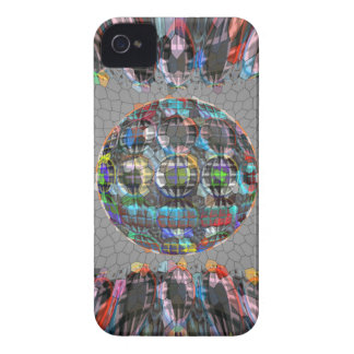 Digitally painted Artistic Diamond iPhone 4 Cover