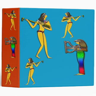 Digitally Painted; Early Egyptian Large Binder,... Binder