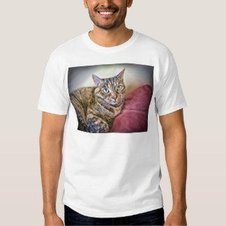 Digitally Painted Pussycat Shirt