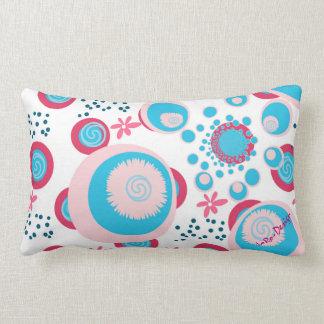 Digitally pattern Design 3 with signature Lumbar Pillow