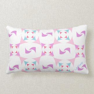 Digitally pattern Design 4 with signature Lumbar Pillow