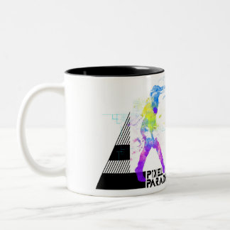 Digitelephant Two-Tone Coffee Mug