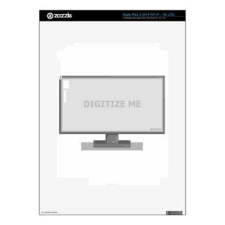 digitize me iPad 3 decal