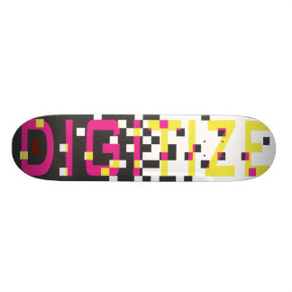 DIGITIZE SKATEBOARD DECK