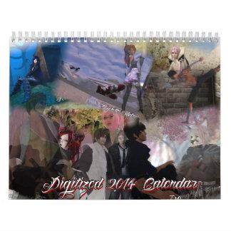 Digitized 2014 Calendar
