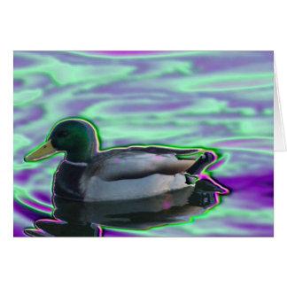 Digitized Duck Card