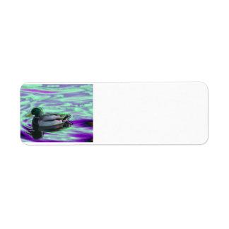 Digitized Duck Label