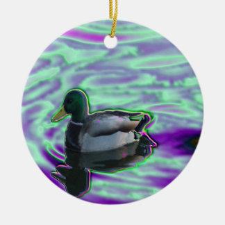 Digitized Duck Ornament