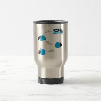 Digitized Hip Hop Travel Mug