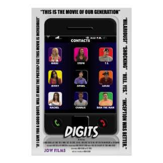 Digits - Discount Theatrical Poster