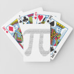Digits of Pi Bicycle Playing Cards