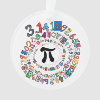 Digits of Pi Form a Colorful Spiral Ornament