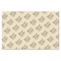 Digiwrap Kraft Tissue Paper Custom Company Logo