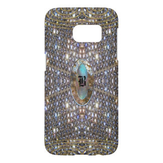 Digloos Cool Girly Monogram Samsung Galaxy S7 Case