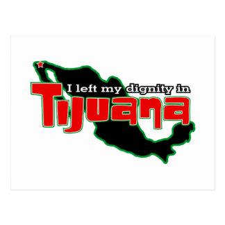 Dignidad de Tijuana Tarjeta Postal