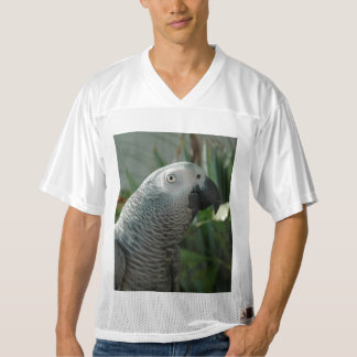 Dignified African Grey Parrot Men's Football Jersey