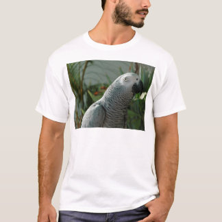 Dignified African Grey Parrot T-Shirt