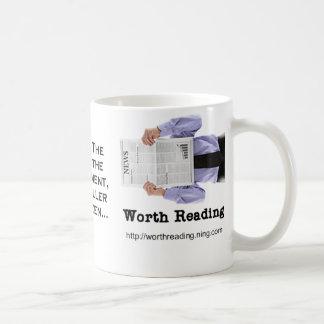 Digno de la lectura de la taza