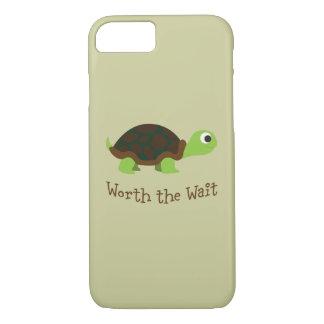 Digno de la tortuga de la espera funda iPhone 7