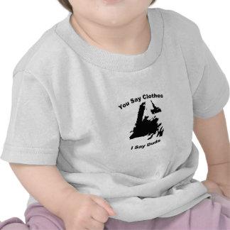 Digo desastres camiseta