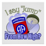 Digo el salto [82.os aerotransportados] impresiones