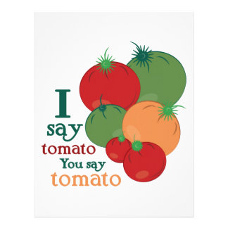 Digo el tomate usted mi tomate membrete a diseño